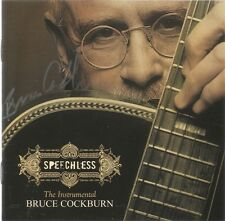 Speechless * by Bruce Cockburn (CD, Sep-2005, Rounder Select) Original Signed