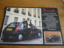 RENAULT 5 GTS PANACHE SPECIAL EDITION SALES BROCHURE/SHEET 1986 1987
