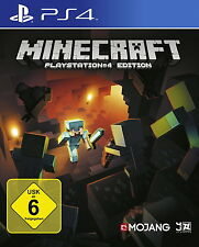 Minecraft: PlayStation 4 Edition (Sony PlayStation 4, 2014, DVD-Box) NEU