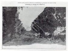 1912  --  GORGES DU RHONE A GENISSIAT AVANT BARRAGE