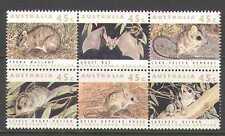 Australia 1992 Bat/Wallaby/Animals 6v blk (n21663)