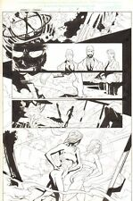 Weapon X: Draft - Marrow #1 p.4 5th Element Bandage Costume by Brandon Badeaux