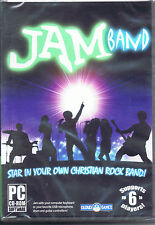 Brand New Jam Band PC CD-ROM By Cloud 9 Games Compatible w/Win 7/Vista/XP