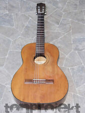 Vintage oscar plato nr33 4/4 concierto guitarra clásica guitarra guitarra Germany 1972