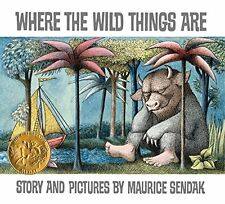 Where the Wild Things Are by Maurice Sendak (25th anniversary edi)  (Hardcover)