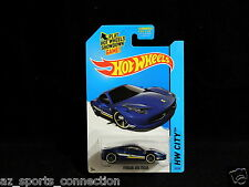2014 Hot Wheels Speed Team #35/250 Ferrari 458 Italia - Blue