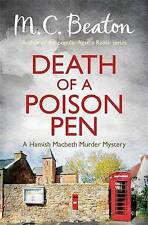 Death of a Poison Pen by M. C. Beaton (Paperback) New Book