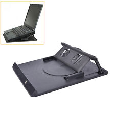 Laptop Holder Cooling 360° Rotation Stand Mount Notebook Table Desk Swivel TrayW