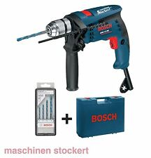 Bosch Schlagbohrmaschine GSB 13 RE Professional + 4 tlg. MultiConstruction-Set