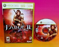 Fable II - XBOX 360 - Game Rare Fable 2 case cover art game disc