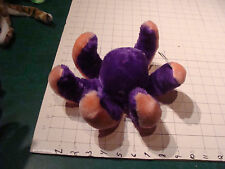 Stuffed OCTOPUS Toy - Top Bloom usa Unused  has light storage spot PURPLE Pink