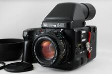 【EXC】Mamiya 645 Pro Winder Grip Camera w/ Sekor C 80mm f/2.8 N Lens From Japan