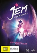 Jem And The Holograms (DVD, 2016)