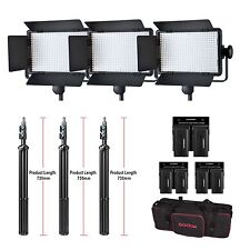 Godox LED500C Kit 3300K-5600K LED Video Continuous Light Lamp Panel With Bag