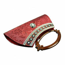 Hydes Girl's Women's ladies decorative clutch wallet  purse party clutches