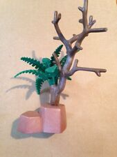 Playmobil Western Desert Landscape Tree With Rock Base