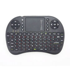 Latest 2.4G Russian Wireless Keyboard Air mouse Touchpad For Android TV Black