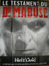 Affiche LE TESTAMENT DU DOCTEUR MABUSE. 120 x 160 cms. Fritz Lang