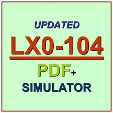 CompTIA Linux+ Powered by LPI  Test LX0-104 Exam 2 QA PDF+Simulator