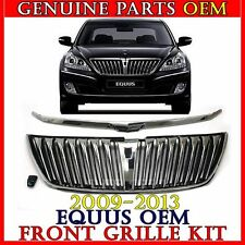 NEW FRONT GRILLE & GARNISH & CAMERA COVER SET For 2009-2013 Hyundai EQUUS OEM