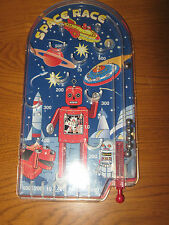 Schylling Toys Space Race 6 Ball Pinball Robot Rocket Ship Game Toy Table Top