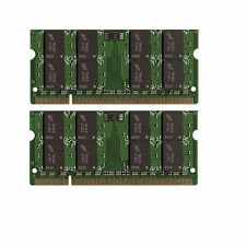 NEW 4GB (2x2GB) Memory PC2-5300 SODIMM For Averatec Yoya 4400