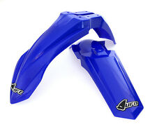 New UFO Motocross Restyled Front and Rear Fender Set Yamaha YZ 85 02 - 14 Blue