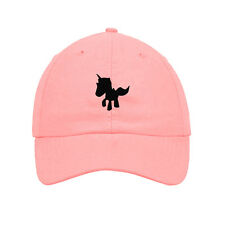 Baby Unicorn Embroidered Soft Unstructured Hat Baseball Cap