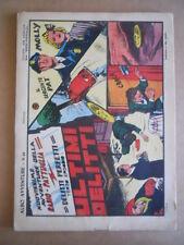 Radio Pattuglia Albo Avventure n°28 1947 Ultimi delitti ed. Capriotti [G504]