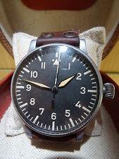 Beobachtungsuhr B-Uhr Wempe THOMMEN Luftwaffe Observer Big Pilot watch WWII WW2