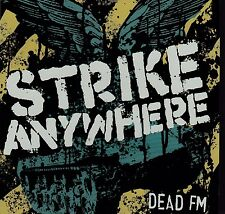 Strike Anywhere - Dead FM (CD, 2006, Fat Wreck Records) Promo RARE/OOP