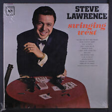 STEVE LAWRENCE: Swinging West LP Sealed (Mono, partially torn shrink, sm wobc)
