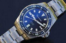"""Kemmner """"turtle-blau"""" mit ETA 2824-2 swiss, Taucheruhr bis 200 m"""