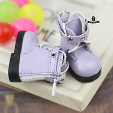 1/6 BJD Shoes Yosd Dollfie DREAM lolita Boots DIM DOD SOOM MID Luts AOD #purple