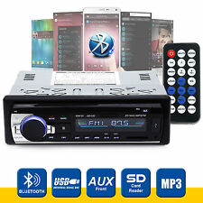 Bluetooth CAR radio stereo head unit Lettore MP3 / USB / SD / AUX-IN / FM In-Dash IPod UK