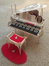 Barbie's Susy Goose Music Box Piano