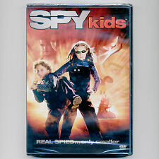 Spy Kids 2001 PG science fantasy family adventure comedy movie, new DVD Banderas