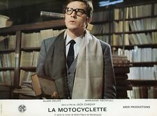 ALAIN DELON THE GIRL ON A MOTORCYCLE 1968 VINTAGE  LOBBY CARD #4