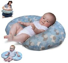 Baby Pillow Sleep Cover Nursing Child Support Boppy Infant Classic Blue Design