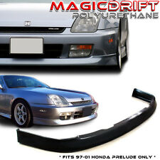 For 97-01 Honda Prelude Front Bumper Lip Spoiler Body Kit OE Optional Urethane P
