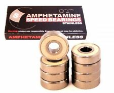 AMPHETAMINE Stainless - Kugellager inkl. Spacer Longboard Skateboard Minicruiser