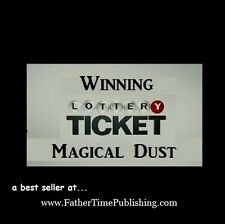 Winning Lottery Ticket Magical Dust Might Magically Help YOU Win Lottery Money!