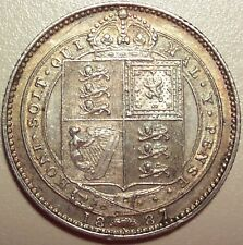 1887 GREAT BRITAIN 1 SHILLING - KM# 761