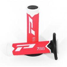 Pro Grip 788 Flo Red Motocross MX Handlebar Grips - HONDA CRF450R 2009 2010 2011