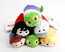 NEW Disney Store Tsum Tsum Tangled Rapunzel Pascal Plush Set of 6 USA Authentic