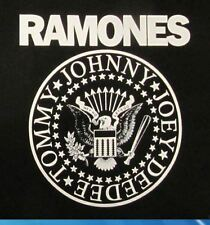 Ramones hey ho let's go great eagle seal punk rock camouflage armée veste chemise