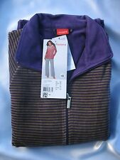 Triumph Homewear Country Nights LS 21 Gr. 38 Hausanzug Baumwolle Royal Purple