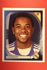PANINI CHAMPIONS LEAGUE 2007/08 N. 346 ROBINHO REAL MADRID BLACK BACK MINT!