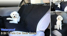 Waterproof Heavy Duty 3-in-1 Hammock Front and Rear Dog Cat Pets Seat Cover