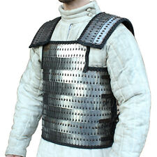 Ancient Roman and Asian Lamellar Scale 20g Mild Steel Plate and Leather Armor
